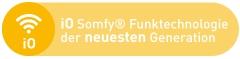 Kompatibel mit iO Somfy® Funktechnologie der neuesten Generation